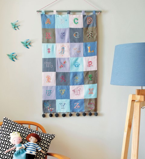 Alphabet Wall Hanging