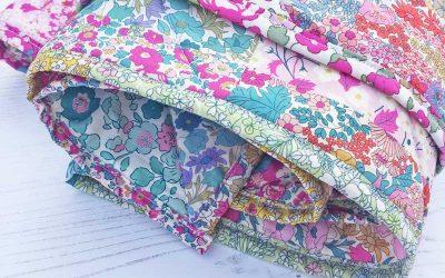 Alice Caroline Chevron Rainbow Quilt