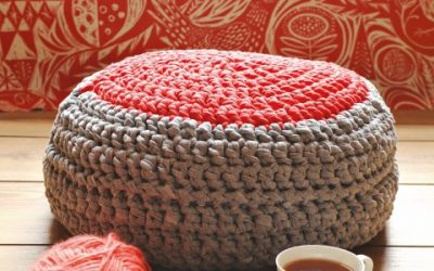 Crochet Footstool
