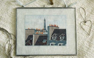 Criss Cross Paris Cross Stitch