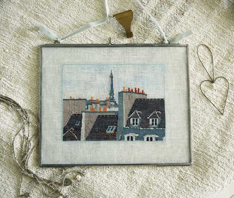 Criss Cross Paris Cross Stitch