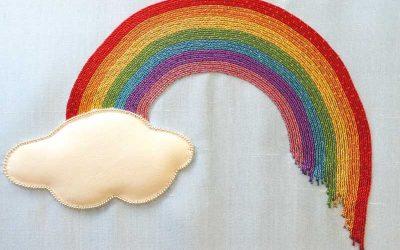 Make a Goldwork Rainbow