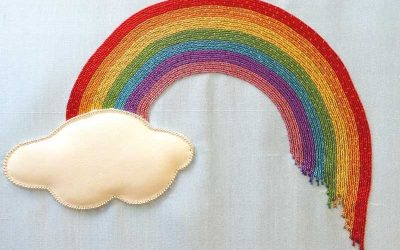 Make a Goldwork Rainbow