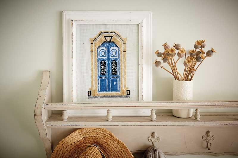 Blue Doors: Des portes bleues