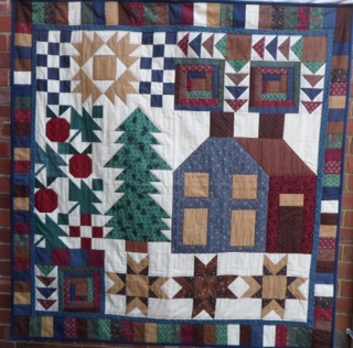 QUILTS IN THE WOLDS  Lindsey Patchworkers 5th Exhibition in the Lincolnshire Wolds
