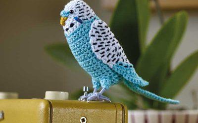 Crochet Budgerigar