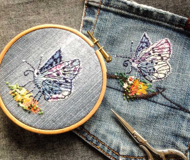 How To: Make a Butterfly Patch