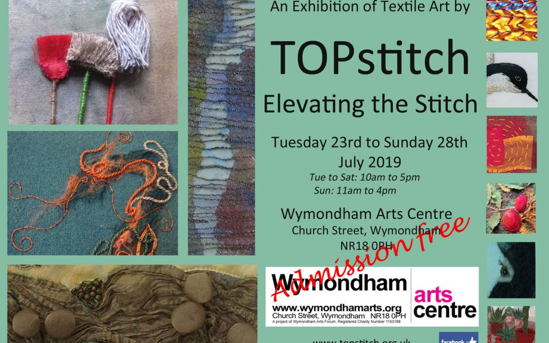 Exhibition of Textile Art by TOPstitch.