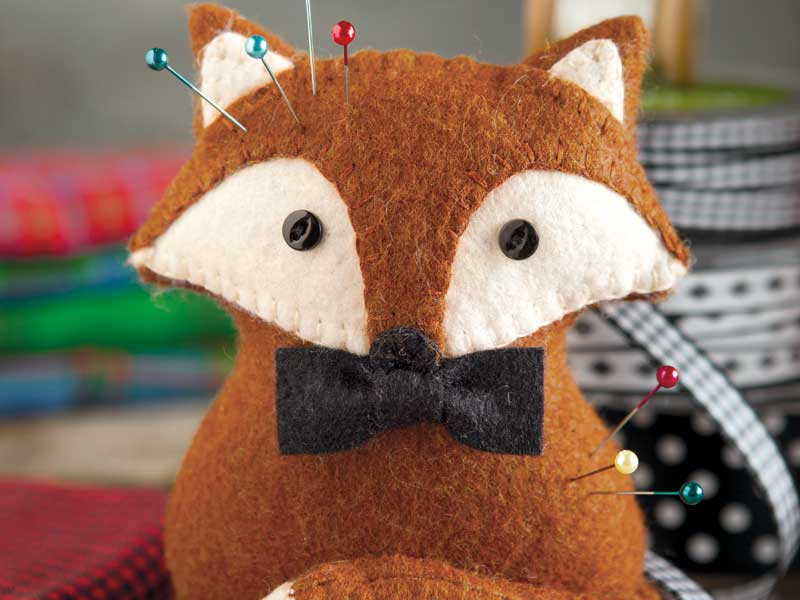 Fox Pincushion