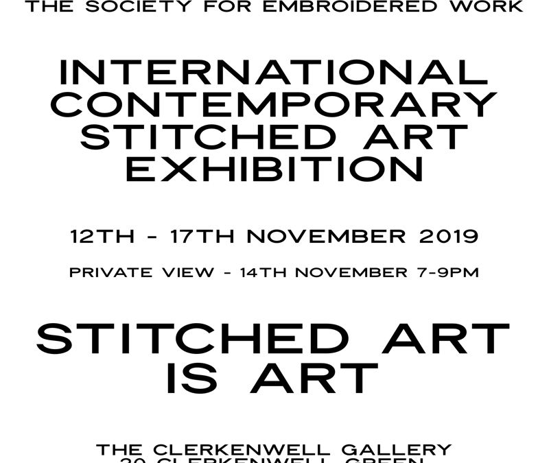 S.E.W – International Contemporary Stitched Art Exhibition