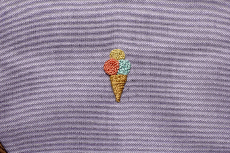 Ice Cream Button