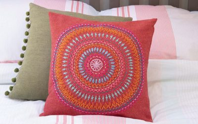 mandala-cushion
