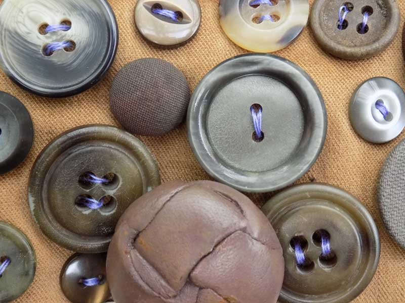 How To –  Create A Textural Surface Using Buttons