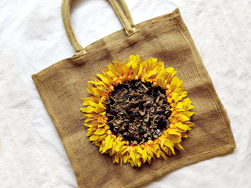 Rag Rug: A Shopping Bag
