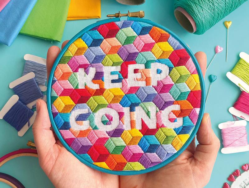 Keep Going Hoop